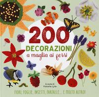 200 decorazioni a maglia ai ferri