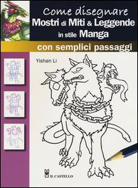 Come disegnare mostri di miti e leggende in stile manga con semplici passaggi