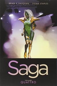 Saga / scritto da Brian K. Vaughan ; illustrato da Fiona Staples. Volume 4