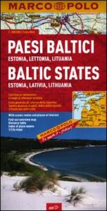 Paesi Baltici : Estonia, Lettonia, Lituania = Baltic States : Estonia, Lativia, Lithuania = Baltikum : Estland, Lettland, Litauen = Pays Baltes : Estonie, Lettonie, Lituanie
