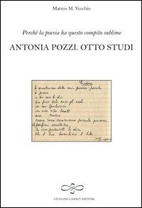 Antonia Pozzi, otto studi