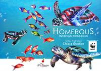 Homerous tartaruga coraggiosa
