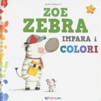 Zoe zebra impara i colori