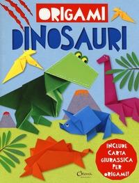 Origami dinosauri