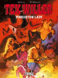 Tex Willer. Pinkerton lady