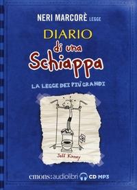 Neri Marcorè legge Diario di una schiappa: La legge dei più grandi