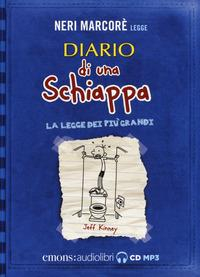 Neri Marcorè legge Diario di una schiappa [Audioregistrazione]
