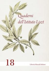 Quaderni dell'Istituto Liszt, 18