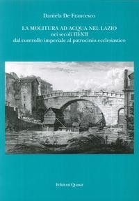 La molitura ad acqua nel Lazio nei secoli 3.-12.