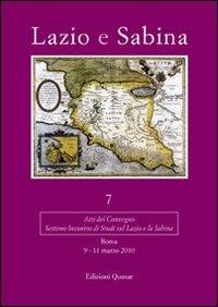 7: Settimo incontro di Studi sul Lazio e la Sabina