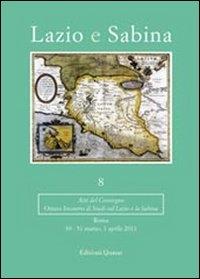 8: Ottavo incontro di studi sul Lazio e la Sabina