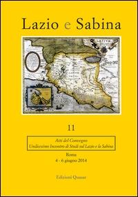 11: Undicesimo incontro di studi sul Lazio e la Sabina