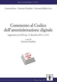 Commento al Codice dell'amministrazione digitale