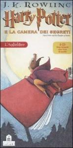 Harry Potter e la camera dei segreti [audioregistrazione] : otto CD, testo integrale, oltre 9 ore di ascolto / J. K. Rowling ; [letto da Giorgio Scaramuzzino]. 1: Cap. 1., 2., 3., 4. [audioregistrazione]