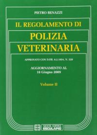 Il regolamento di polizia veterinaria