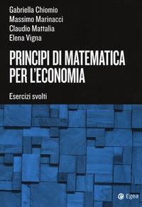 Principi di matematica per l'economia