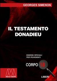 Il testamento Donadieu