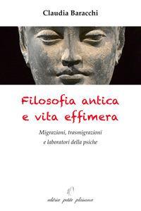 Filosofia antica e vita effimera