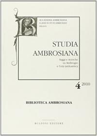 Studia Ambrosiana 4 (2010)