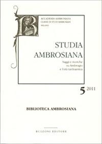 Studia Ambrosiana 5 (2011)