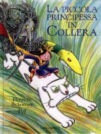 La piccola principessa in collera