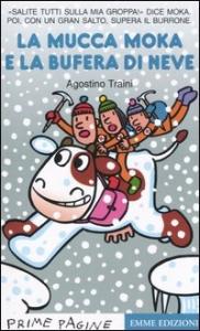 La mucca Moka e la bufera di neve