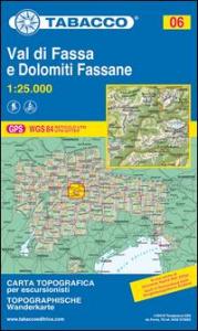 Val di Fassa e Dolomiti Fassane [materiale cartografico]