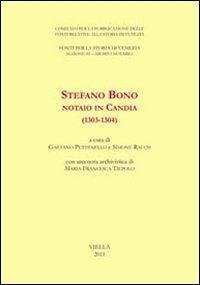 Stefano Bono, notaio in Candia