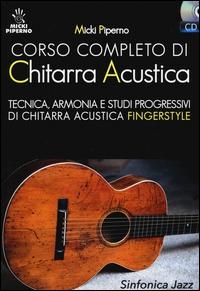 Corso completo di chitarra acustica