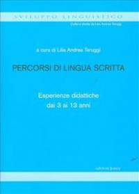 Percorsi di lingua scritta