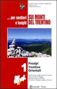 ... per sentieri e luoghi sui monti del Trentino. Vol. 1: Prealpi trentine orientali
