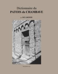 Dictionnaire du patois de Chambave