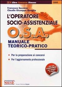 L' operatore socio-assistenziale O. S. A.