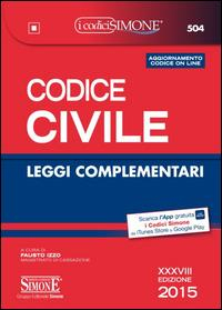 Codice civile, leggi complementari