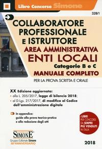 Collaboratore professionale e istruttore