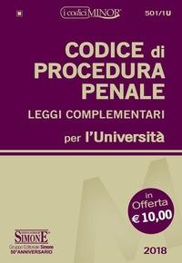 Codice di procedura penale, leggi complementari