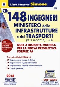 148 ingegneri ministero delle infrastrutture e dei trasporti (G.U. 8-6-2018, n. 45)