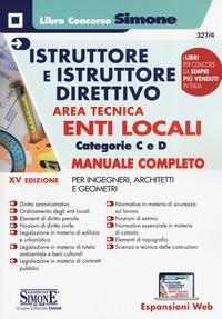 Istruttore e istruttore direttivo area tecnica enti locali