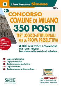 Concorso Comune di Milano 350 posti