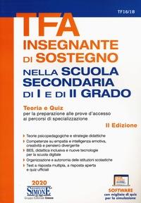 TFA. Insegnante di sostegno nella scuola secondaria di I e di II grado