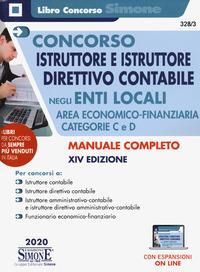 Concorso istruttore e istruttore direttivo contabile negli enti locali