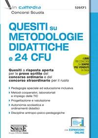 Quesiti su metodologie didattiche e 24 CFU