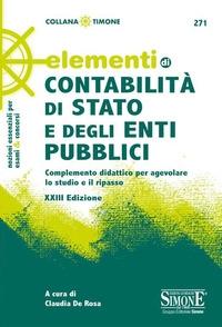 Elementi di contabilita di stato e degli enti pubblici