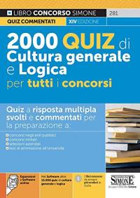 2000 quiz di cultura generale e logica per tutti i concorsi