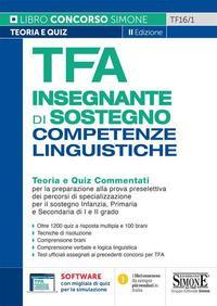 TFA insegnante di sostegno competenze linguistiche