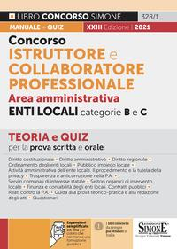 Concorso istruttore e collaboratore professionale area amministrativa enti locali