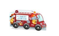 Sul camion dei pompieri