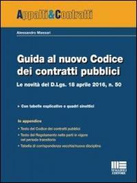 Guida al nuovo Codice dei contratti pubblici