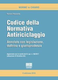 Codice della normativa antiriciclaggio