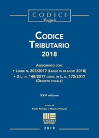 Codice tributario 2018